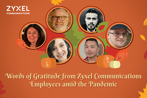 Happy Thanksgiving from Zyxel Communications