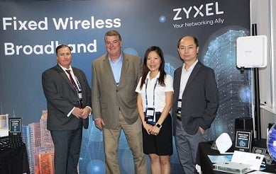 Zyxel team at MWC19 Los Angeles-3