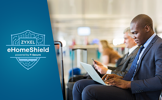 eHomeShield powered by F-Secure provide robust protection from hackers that can easily access the home network