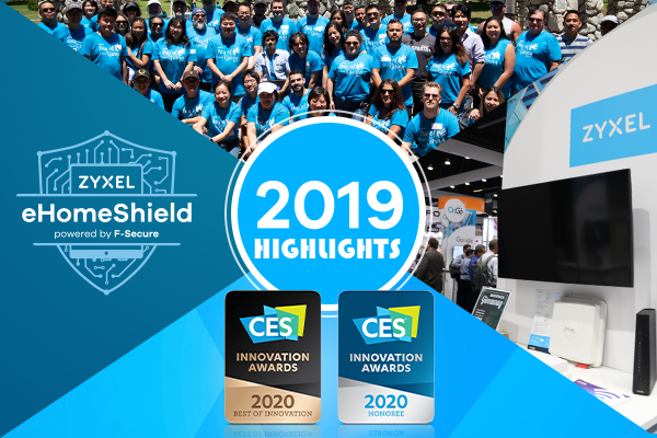 2019 Zyxel Highlights - wireless, wifi and broadband